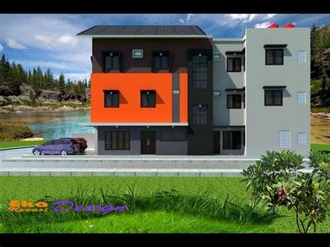 jasa desain arsitek rumah minimalis modern kos kosan