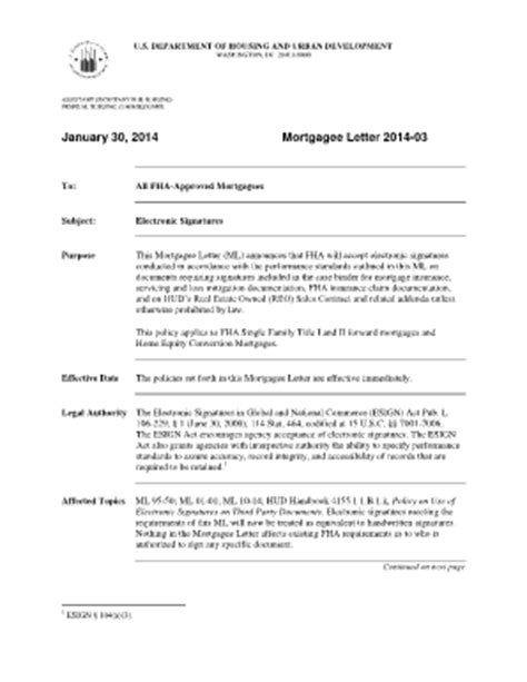 Mortgage Letter Hud Mortgage Letter Templates Forms Fillable Printable Sles For Pdf Word Pdffiller