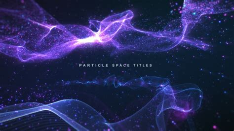Particle Space Titles After Effects Template Videohive 19183164 After Effects Project Files Particle Titles After Effects Templates