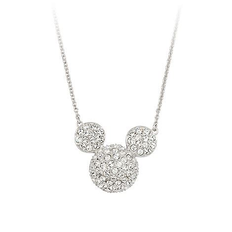 Disney Mickey Necklace Kalung mickey mouse icon necklace by arribas large domed disney store