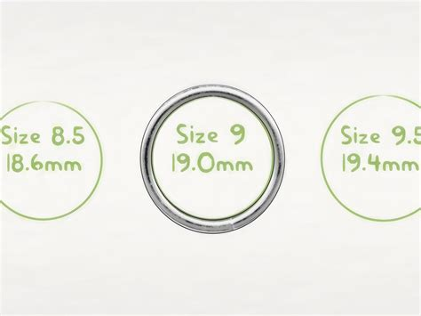 printable circular ring size chart 3 ways to find your ring size wikihow