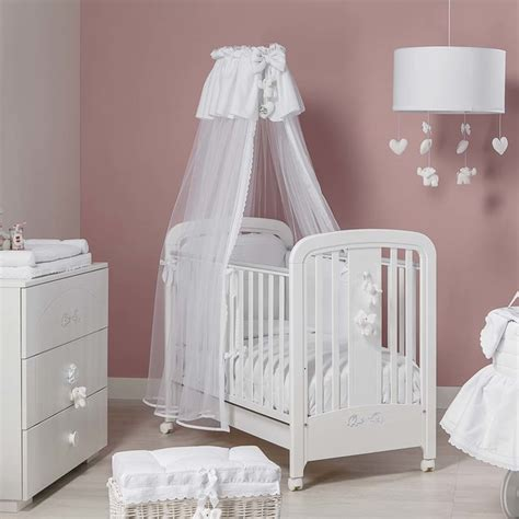 Baby Cots And Furniture Italian Baby Nursery Cot In White Miro By Picci Modern