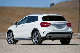 Mercedes Suv 4matic 2015 Mercedes Gla250 4matic Gla45 Amg Test