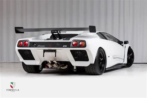 Lamborghini Diablo Sale by Track Only Lamborghini Diablo Gtr Listed For Sale In
