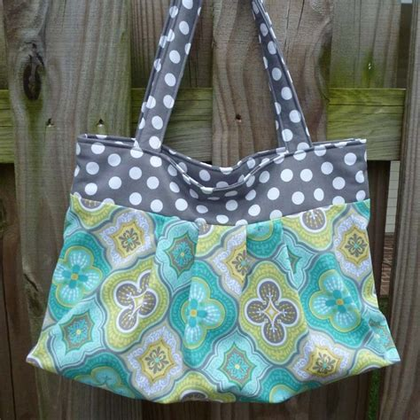gathered tote bag pattern pdf sewing pattern gathered or pleated tote by aivilocharlotte