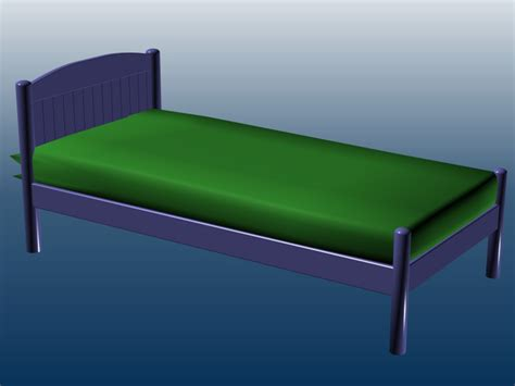 Single Platform Bed Single Platform Bed 3d Model 3ds Max Files Free Modeling 24729 On Cadnav
