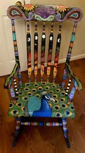 painted school chairs 1000 ideas about whimsical painted furniture on