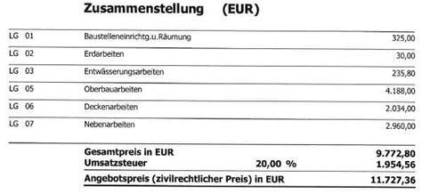 Asphaltieren M2 Preis by Angebot Asphaltierung Bitte Um Meinung Bauforum Auf