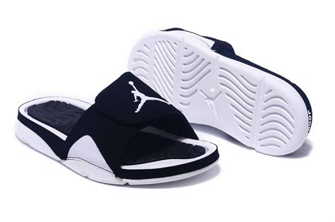 jordan house shoes new air jordan hydro 4 retro slide black white for sale new jordans 2018