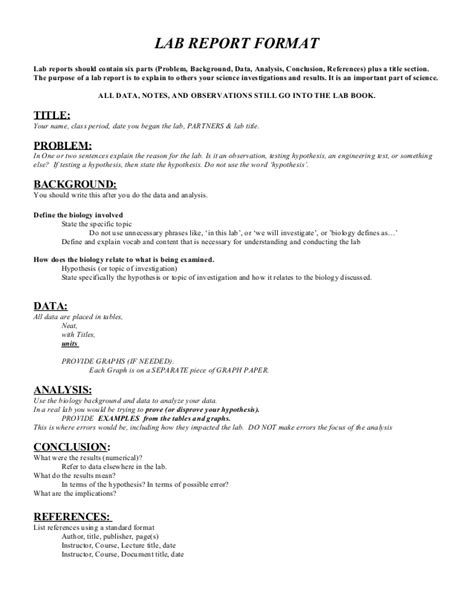sle lab report format formal lab report sle 28 images report structure sle