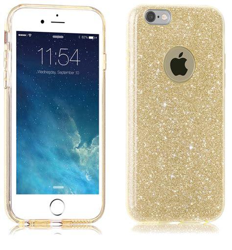 Iphone 6 6s Glitter Berkualitas glitter hoesje goud iphone 6 6s exclusievehoesjes eu