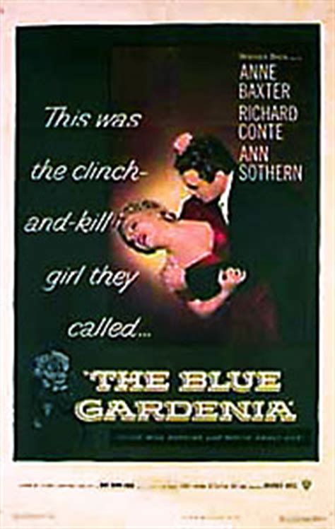 film blue gardenia the blue gardenia fritz lang 1953