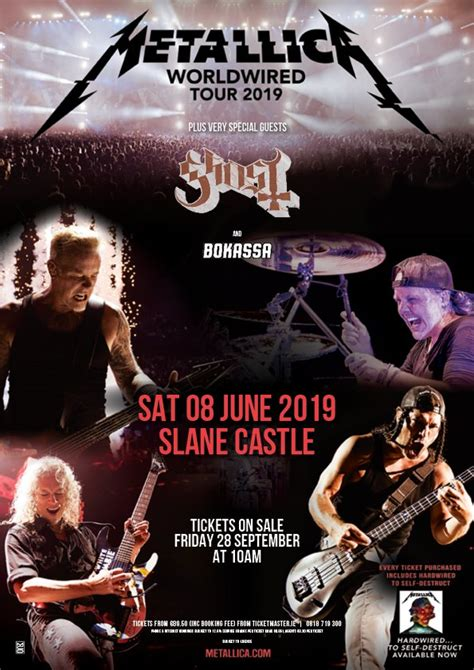 metallica june 2019 metallica announce 2 uk and 1 ireland stadium shows for