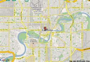 map of inn express edmonton downtown edmonton