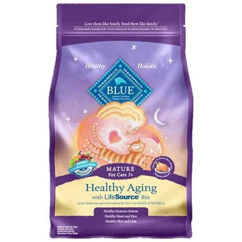 blue buffalo senior food blue buffalo healthy aging chicken and brown rice senior
