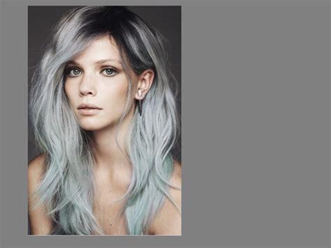 imgenes de cabellos teidos de gris tintes mil peinados