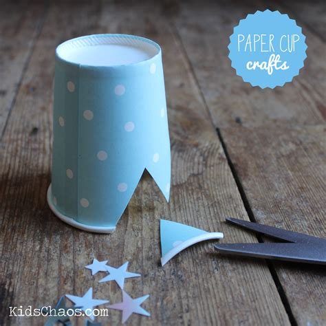 Paper Cup Craft Ideas - crown crafts for
