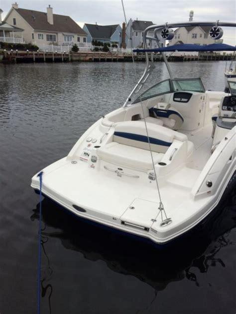 chaparral sunesta  wakeboard bowrider boat  hours  sale  lanoka harbor