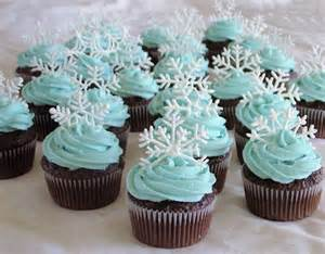 Image result for Snowflake Cupcakes