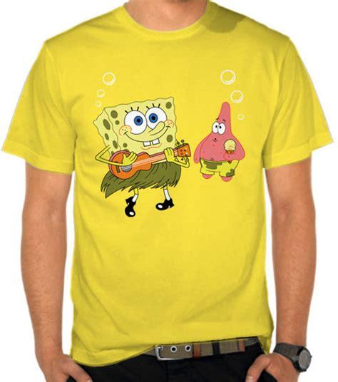 Kaos Spongebob Kaos Distro jual kaos spongebob and spongebob satubaju