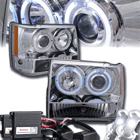 Jeep Hid Headlights Hid Xenon 93 98 Jeep Grand Eye Halo