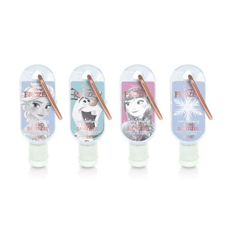 disney frozen hand moisturising sanitizers pc gifts  mad beauty  uk
