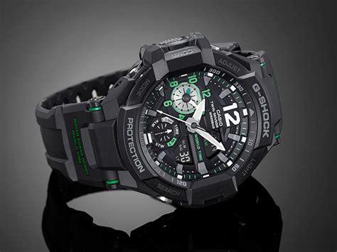 G Shock Ga 200 Black Green casio gshock gravitymaster aviation black green wr200m
