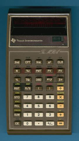 Mba Financial Calculator by Datamath