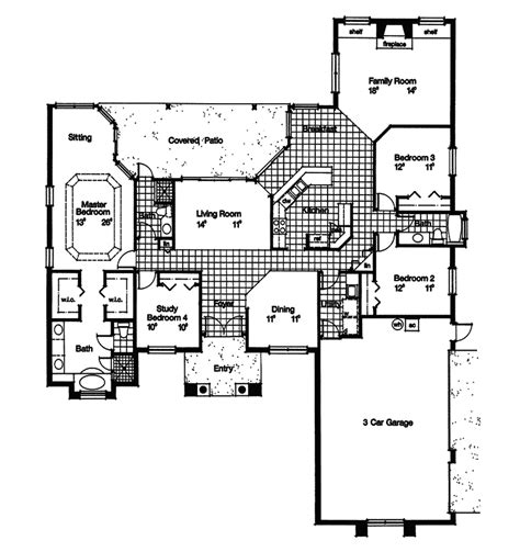 southwestern house plans buckhead southwestern home plan 047d 0206 house plans