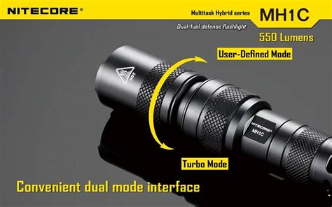 Raket Nyamuk Senter 7 1 Led Rechargeable Limited nitecore mh1c 600 lumen rechargeable led flashlight