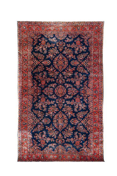 tappeto grande grande tappeto persiano kashan manchester inizio xx secolo