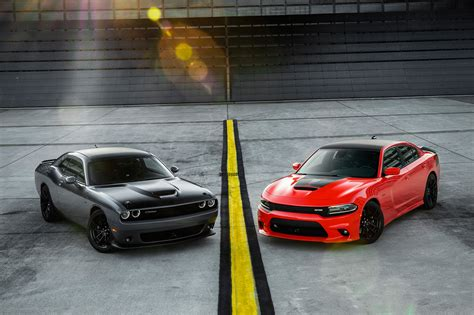 dodge challenger and dodge charger 2017 dodge challenger ta 392 and 2017 dodge charger
