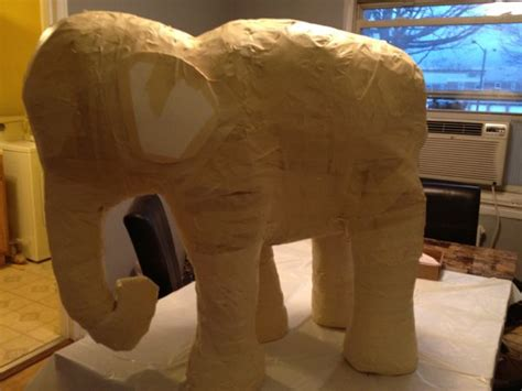 How To Make A Paper Mache Elephant For - how to make a baby elephant with paper mache ultimate