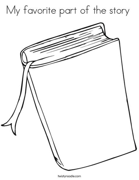 coloring pages story book my favorite part of the story coloring page twisty noodle
