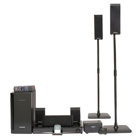 Dvd Home Theater Panasonic panasonic sc pt760 5 disc dvd home theater system with