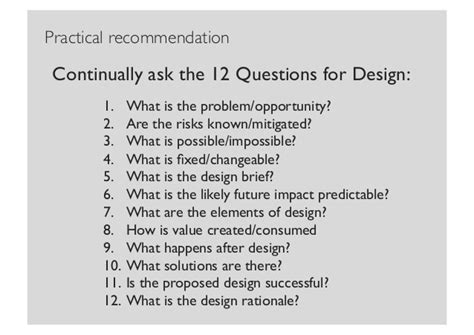 design brief questions design thinking creativity manifesting and ethics