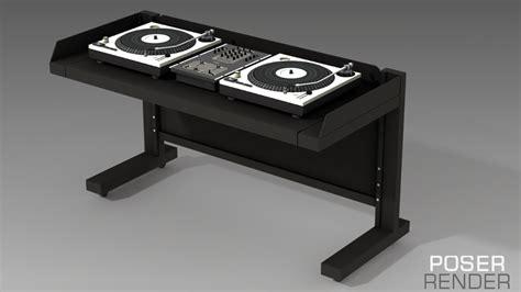 Desk Dj by Dj Desk 3d Models Truform