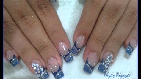 imagenes de uñas acrilicas en alto relieve seylin elizondo arte en u 241 as nails u 241 as wmv youtube