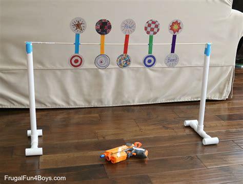 Halloween Craft Preschool - how to make a nerf spinning target