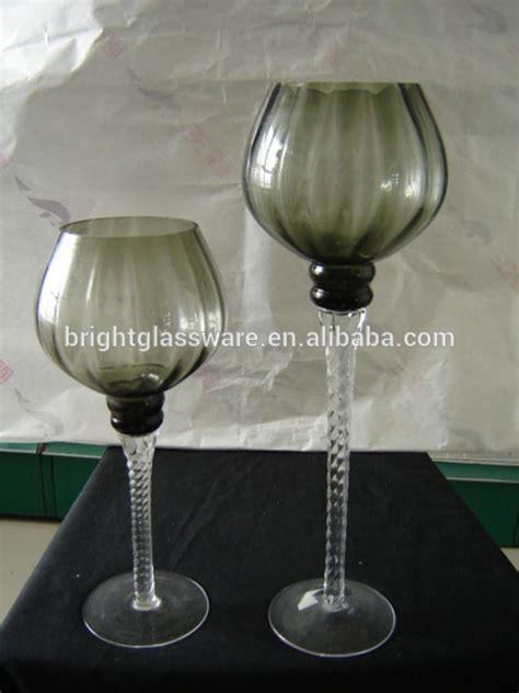 floreros de vidrio altos decoraci 243 n de vino forma floreros de cristal florero alto