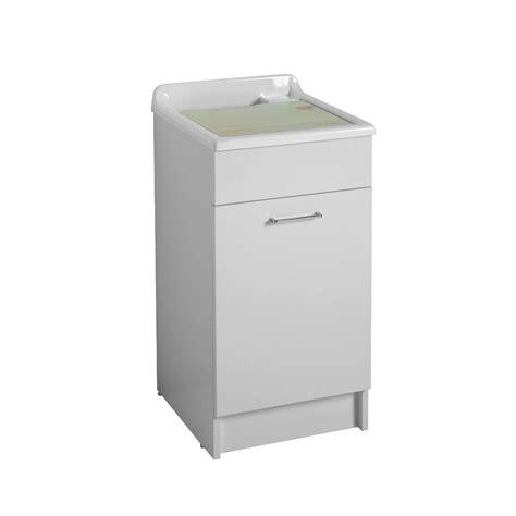 lavello con mobile mobile con sportello e lavabo 45x50x86h jollywash