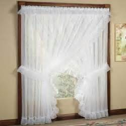 Sheer White Window Curtains » Home Design 2017
