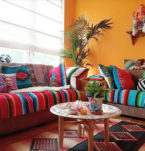 colorful living room decor best 25 mexican colors ideas on mexican style