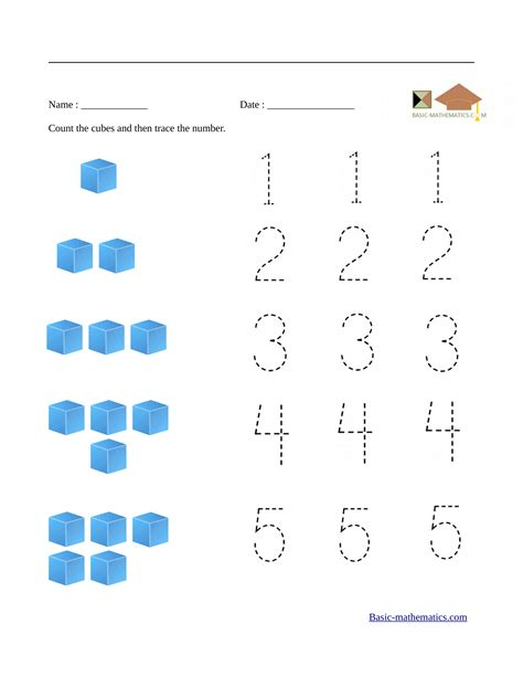 worksheets for preschool math preschool math worksheets