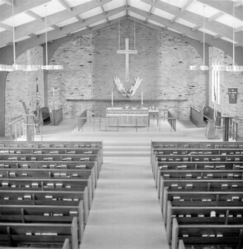 holy comforter tallahassee florida memory interior view of the church of the holy
