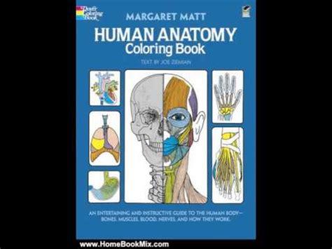 human anatomy coloring book by margaret matt home book summary human anatomy coloring book dover