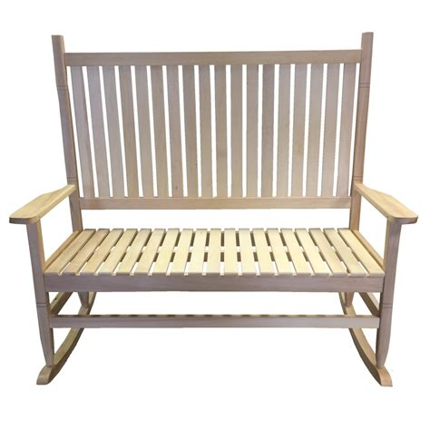 wooden garden recliner chairs redstone rocking chair natural wood finish indoor