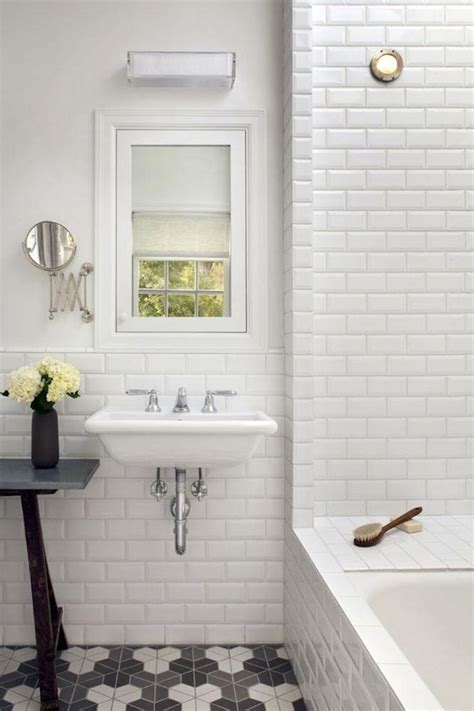 subway tile bathroom best 25 beveled subway tile ideas on pinterest white