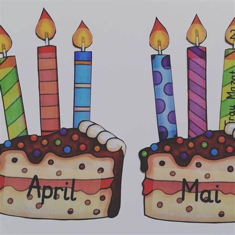 Geburtstagskalender Basteln Grundschule by Basteln Geburtstagskalender Grundschule Bouwunique