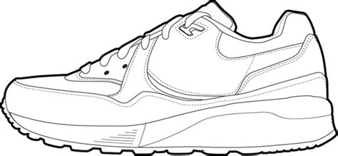 air jordan shoe colouring pages page 3 sketch coloring page